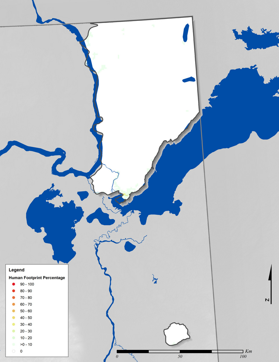 Canadian Shield Natural Regions on