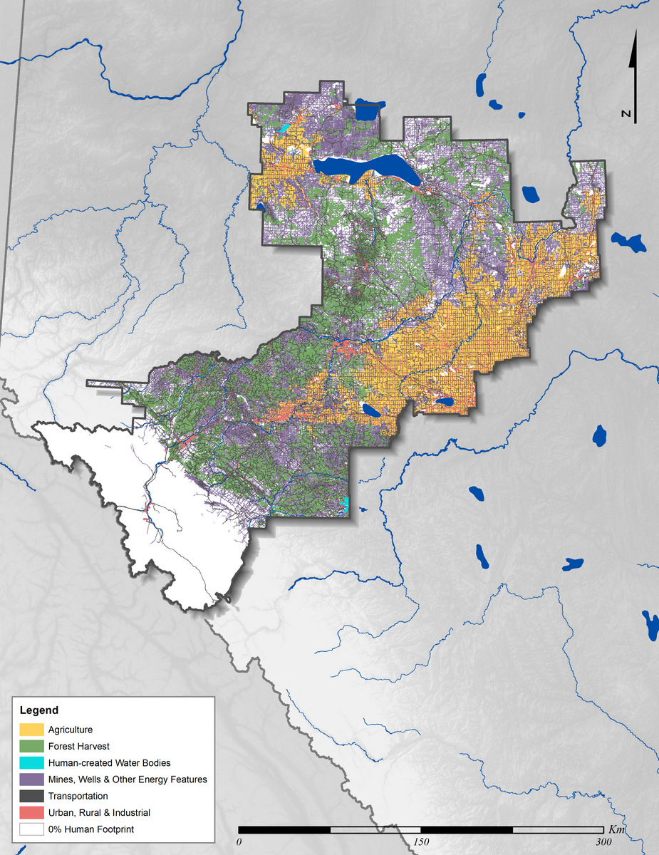 Bodies Of Water In California Map.Upper Athabasca Region Land Use Planning Regions